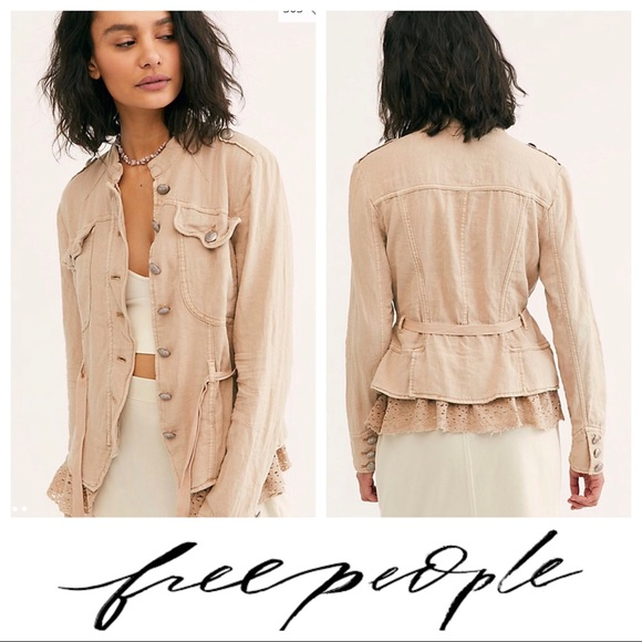Free People Jackets & Blazers - $148 Free People Emilia Military Jacket